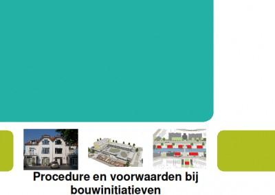 Ontwikkelen beleid bouwinitiatieven